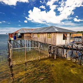 Fisherman House by Taufiqurakhman Ab - Landscapes Travel