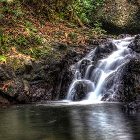 waterfall Paku by Firmansyah Goma - Nature Up Close Water ( bolmong utara, waterfall, paku,  )