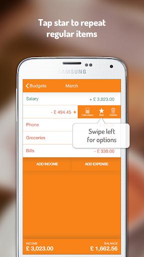 Budget Planner: Fudget - screenshot