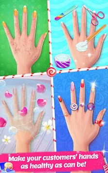 Candy Nail Art - Sweet Fashion APK screenshot thumbnail 3