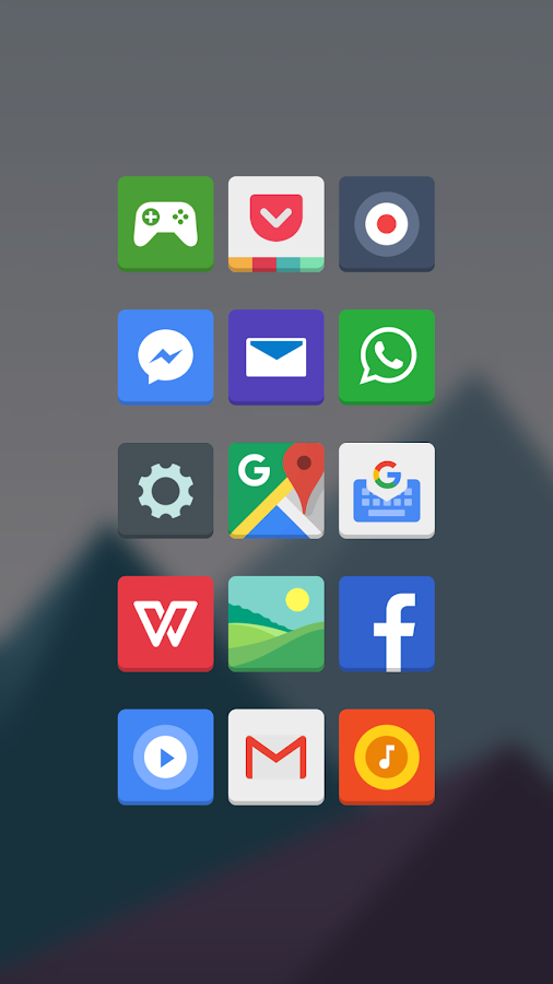 Apollo Icon Pack Screenshot 1