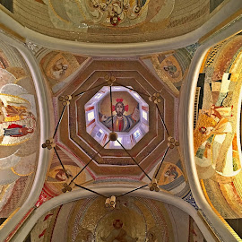 God's eyes by Dobrin Anca - Buildings & Architecture Other Interior ( interior, god, cluj-napoca, church, eyes )