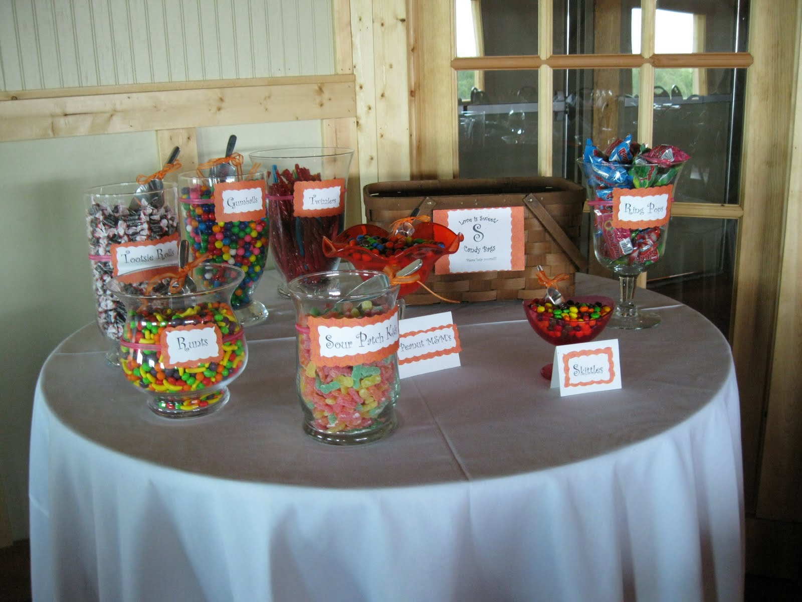 Candy Buffet: Weddings on a