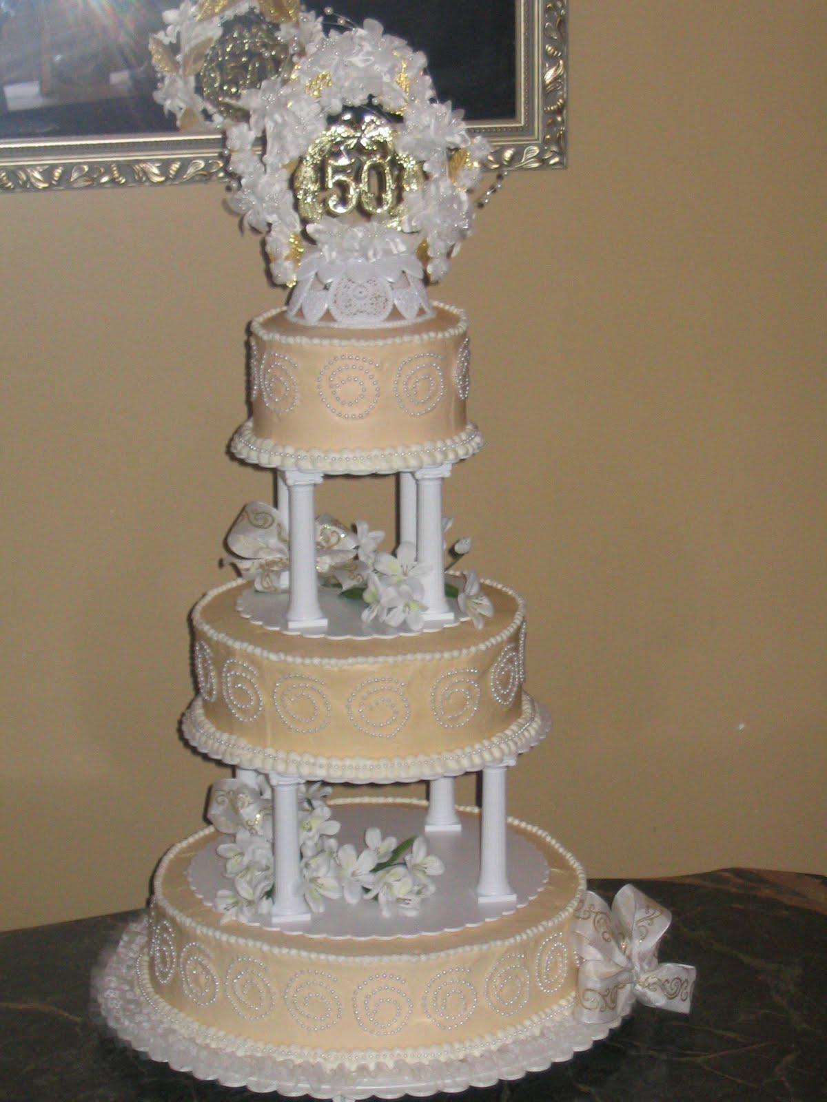 50th wedding anniversary cakes