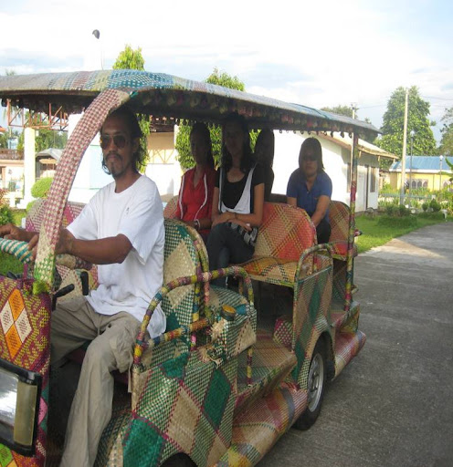 bamboo taxi in Philippines