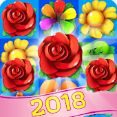Blossom Witch - Flower Blast Crush Match 3 Puzzle