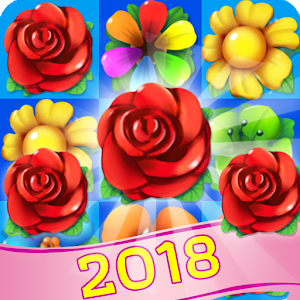 Blossom Witch - Flower Blast Crush Match 3 Puzzle New App on Andriod - Use on PC