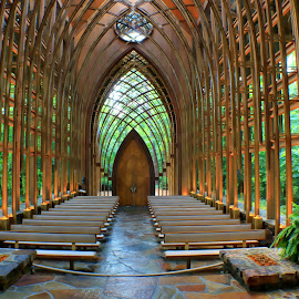 MILDRED B. COOPER MEMORIAL CHAPEL by Dana Johnson - Buildings & Architecture Places of Worship ( ozarks, architecture, chapel, worship, arkansas )