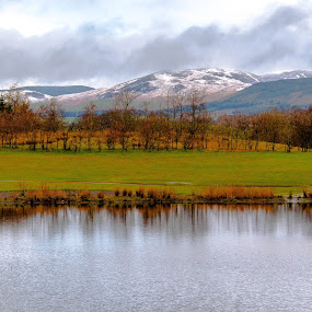 Reflections by Derek Robinson - Landscapes Mountains & Hills