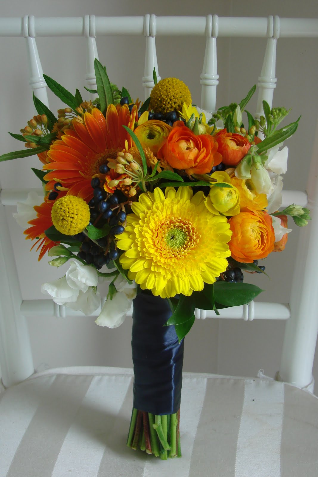 gerbera wedding flowers