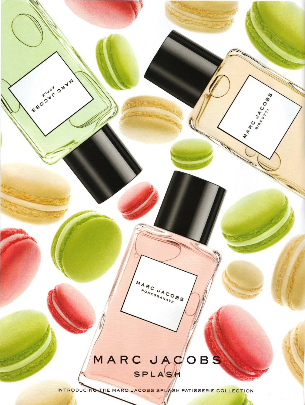Marc Jacobs Splash Patisserie Collection