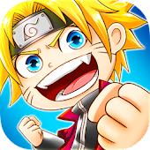 Ninja Heroes - Storm Battle: best anime RPG Icon