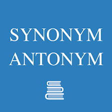 English Synonym Antonym