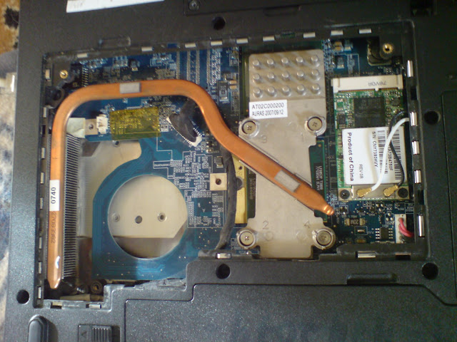 inside laptop