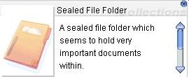Sealed File Folder