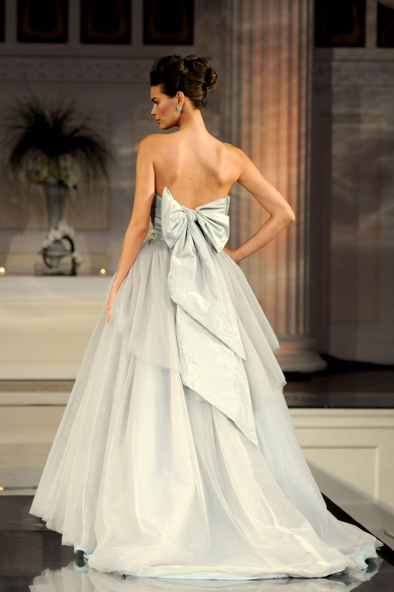long and elegant bride dresses