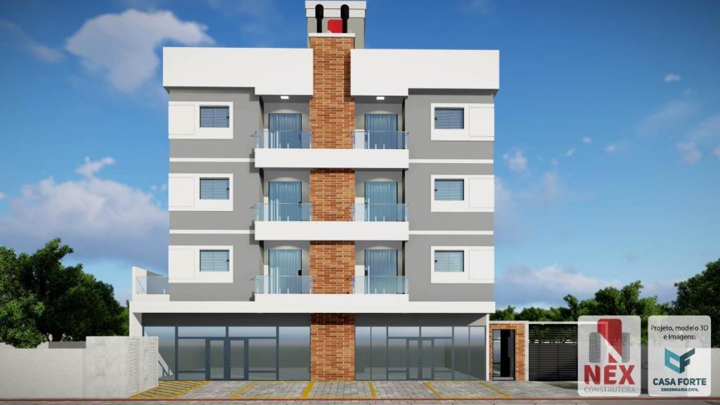 Apartamento com 2 e 3 dormitórios à venda, a partir de R$ 160.000 - Praça - Tijucas/SC