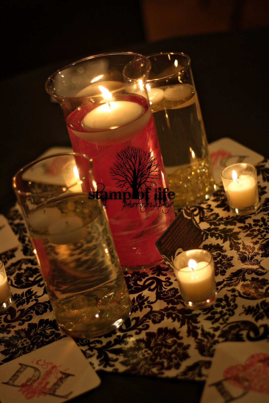 candle centerpieces for