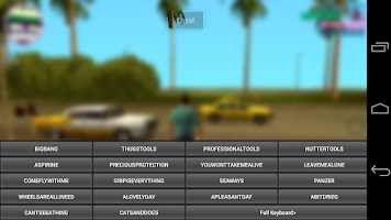 Screenshot of JCheater: Vice City Edition