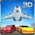 Race Car Transporter Airplane 1.9 icon