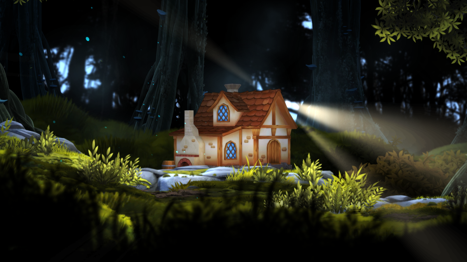 3D Forest House Full LWP Screenshot 12