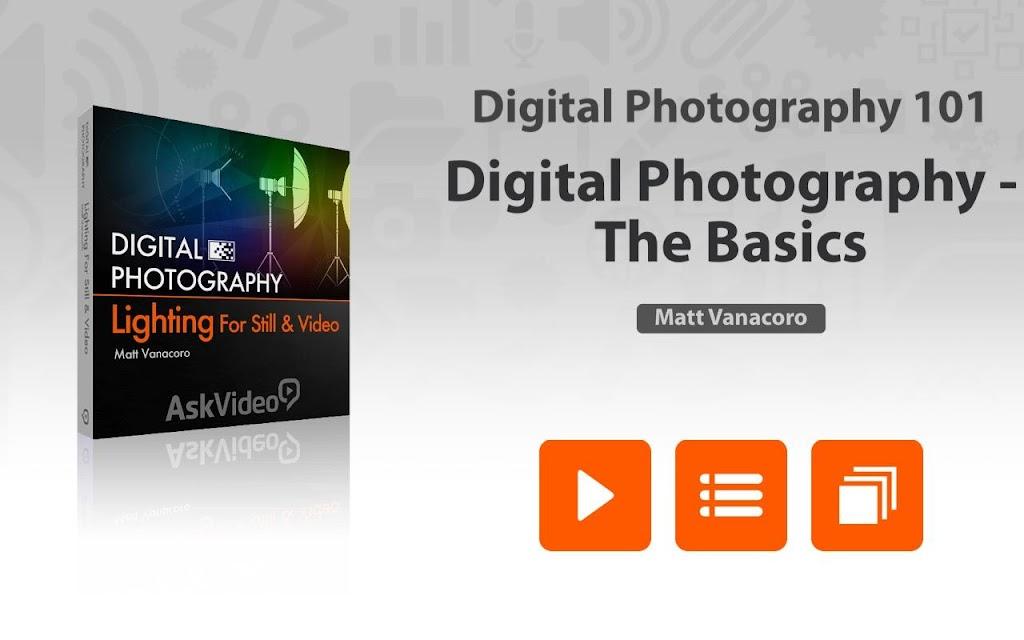 Digital Photography The Basics screenshots