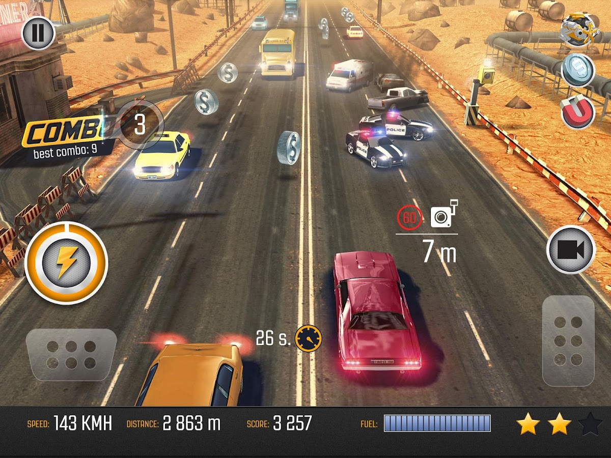 Road Racing: Traffic Driving Screenshot 8