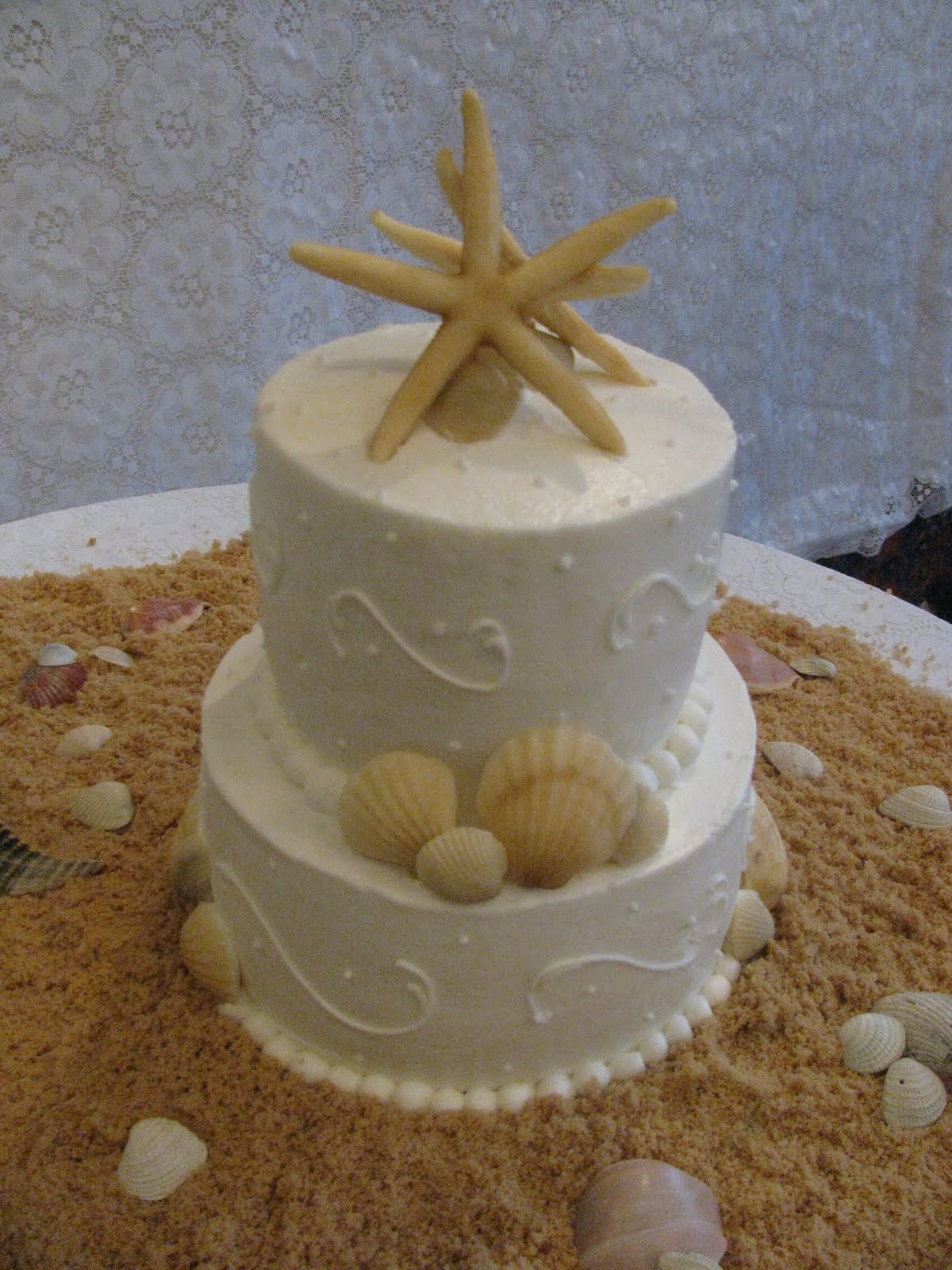 Hoas Blog Beach Theme Wedding Cake Ideas