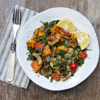 Warm Tomato Spinach Salad Recipes