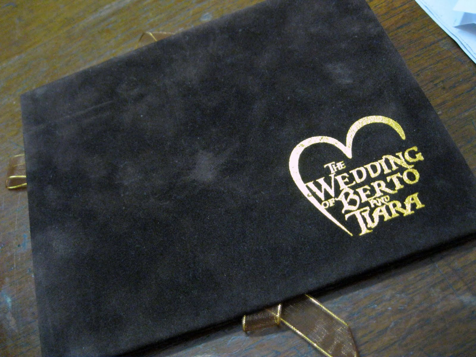 Pop-up Wedding Card