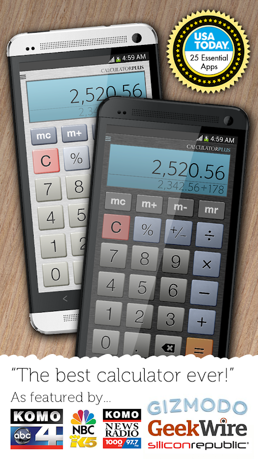 Calculator Plus Screenshot 0