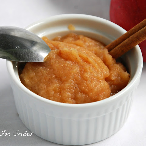 Baked Homemade Applesauce
