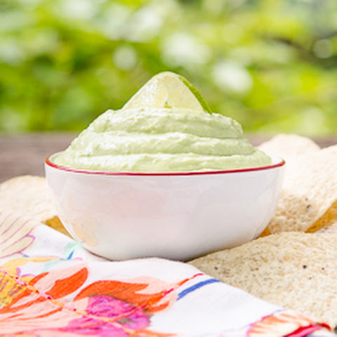 Hatch Chile Avocado Cream Dip