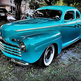 classic by Kenneth Cox - Transportation Automobiles ( car, classic car, automobile, car show, antique )