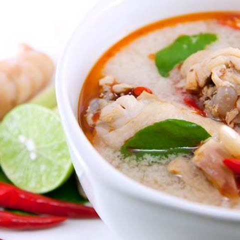 Tom Yum Gai - Sour & Spicy Chicken Soup