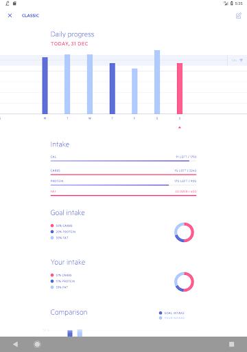 Lifesum - Diet Plan, Calorie Counter & Food Diary screenshot 8