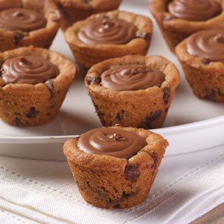Chocolatey Chocolate Chip Cookie Cups
