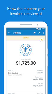 FreshBooks –Invoice+Accounting Business app for Android Preview 1