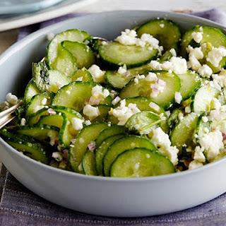 Greek Cucumber Salad With Feta Cheese Recipes