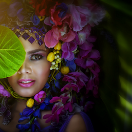 Vibrant Beauty by Maybelle Blossom Dumlao-Sevillena - People Portraits of Women ( sony, maybelledumlaosevillenaphotography, maybelledumlaosevillena, passion, philippines, photography, portrait, a7r )