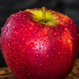 Red Apple by Tracey Dolan - Food & Drink Fruits & Vegetables