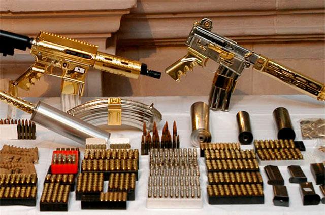 Men with the Golden Guns