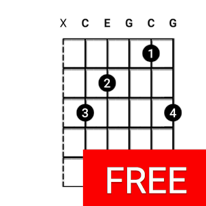 Guitar Chords Finder - No Ads! Icon