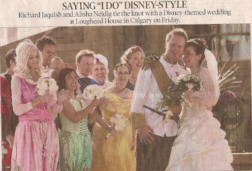 disney wedding card jamie bell The wedding dress