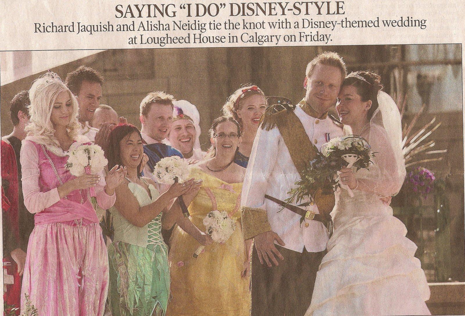 disney wedding card