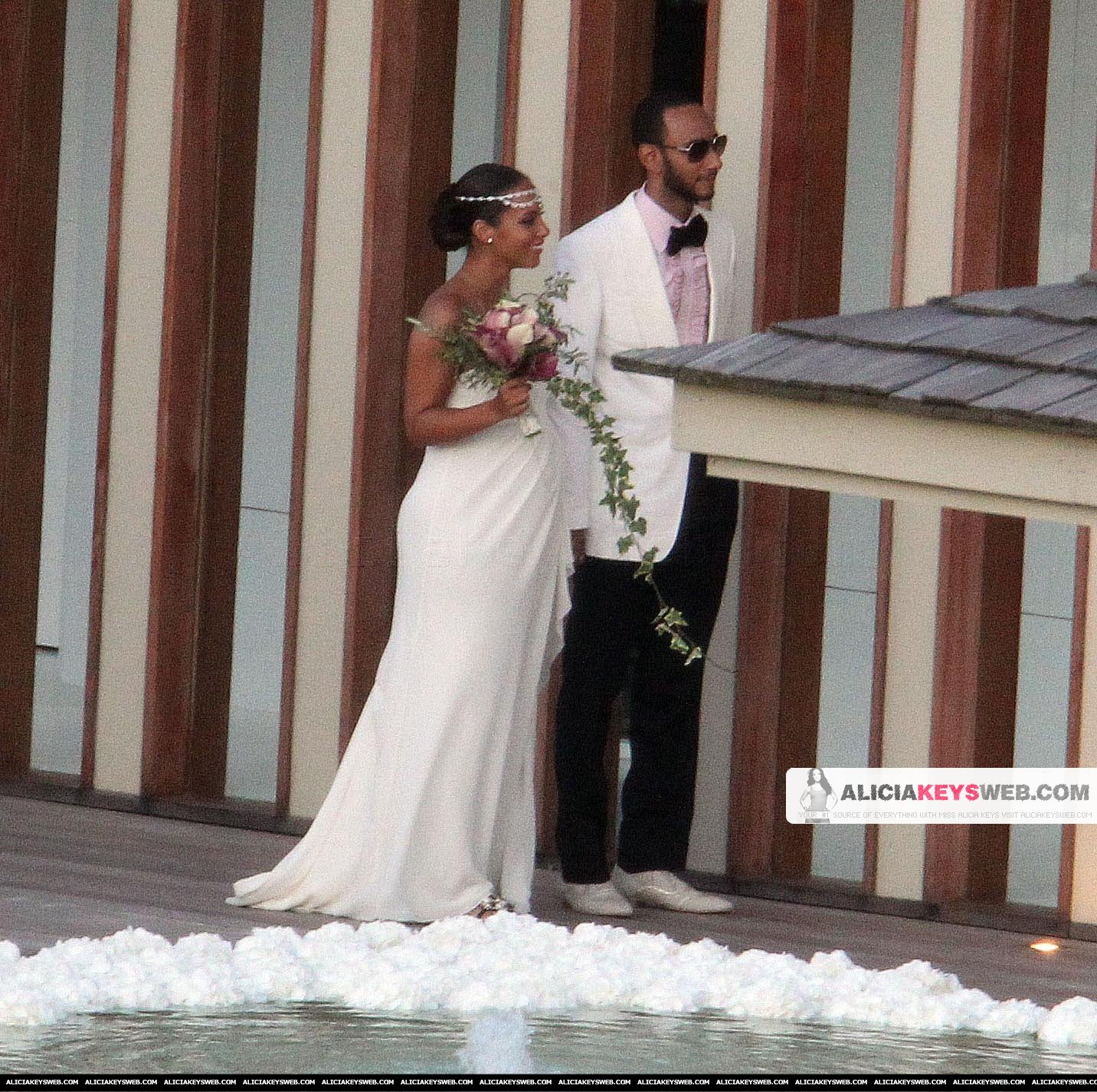 Wedding Photos: Alicia Keys