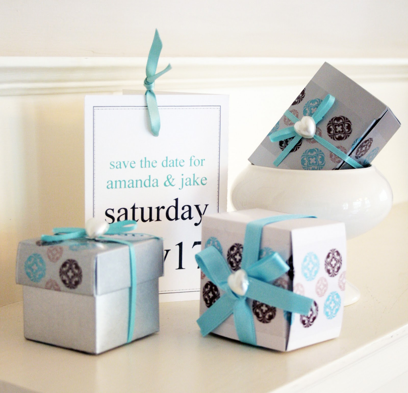 turquoise wedding decoration