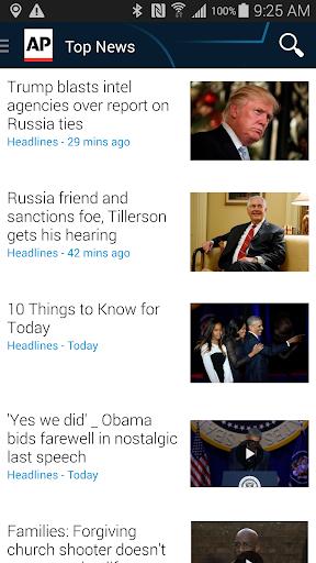 AP Mobile - Breaking News screenshot 1
