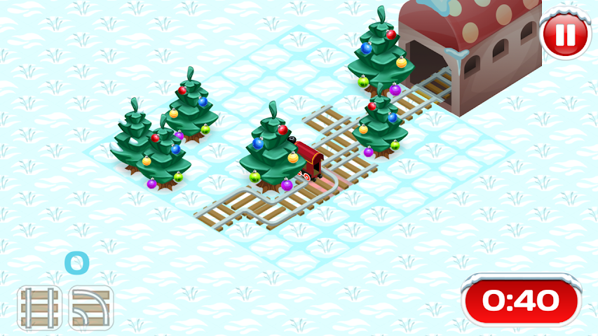 android Xmas Railway Screenshot 2