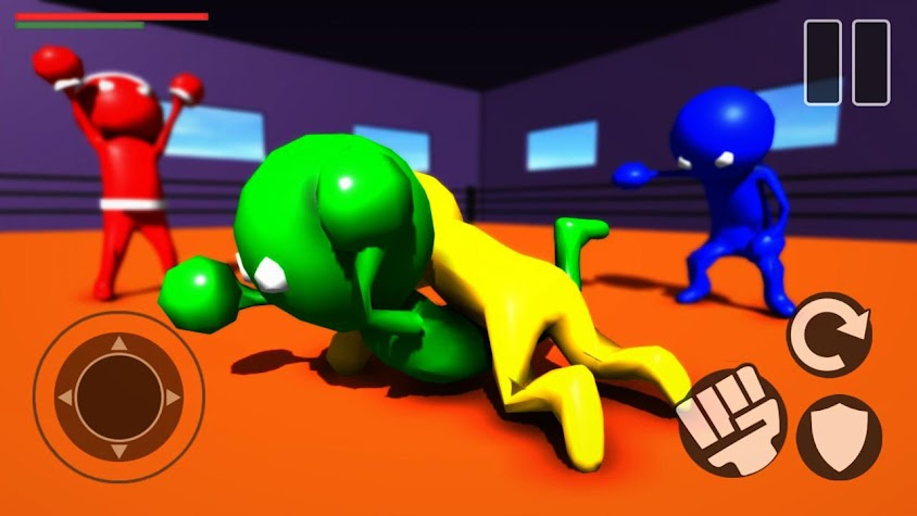 Beasts of Gangster Jelly Fight Wrestling Screenshot